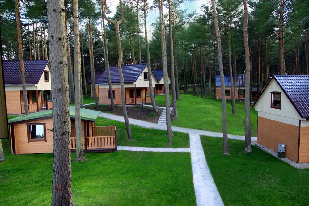 Całoroczne domki nad morzem - Natura Park Ostrowo